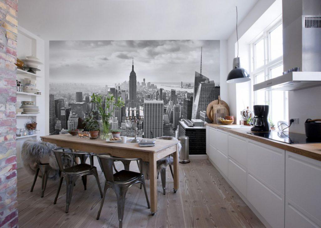 Лучшие решения для стен кухни