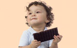 Шоколад и дети