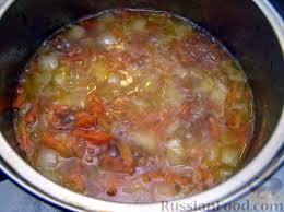 Густой гречневый суп