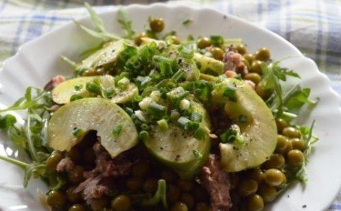 Салат с тунцом «Лёгкость»
