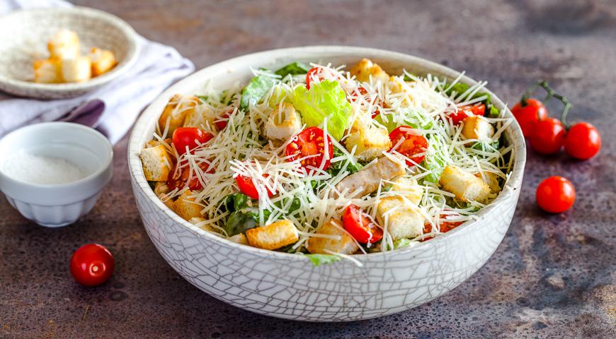 Кто был первым создателем салата Цезарь?