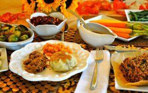 Вариант праздничного обеда