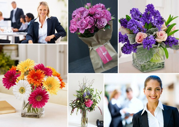 Доставка цветов для шефа