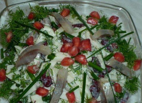 Салат с Селёдушкой