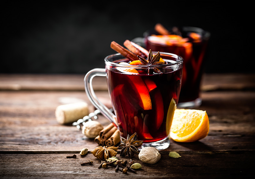 Глинтвейн. Марокканский чай. Имбирный чай