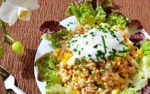 «Шарман от Кзавье» салат