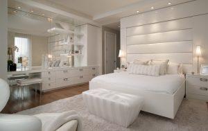 Белая спальня и ее особенности