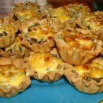 Закусочные тарталетки