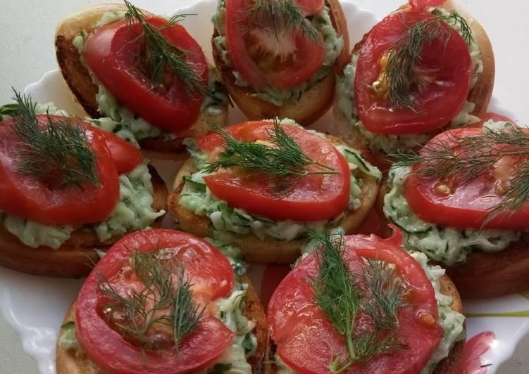 Бутерброды закусочные «Нежность»