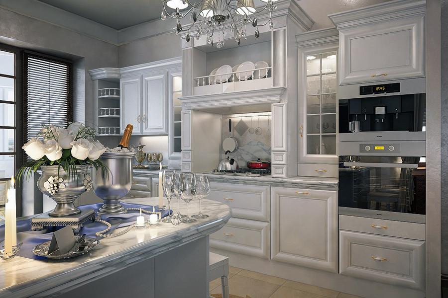Характерные особенности классических кухонь