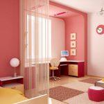 Способы и приемы зонирования детской комнаты
