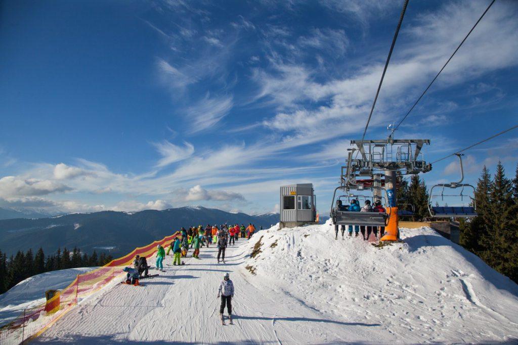 Украинские горнолыжные курорты: Буковель и Драгобрат