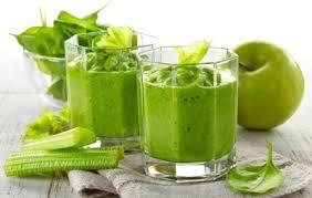 Зеленый смузи для похудения