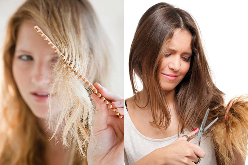 Правильный уход за секущимися волосами