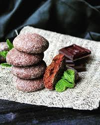 Шоколадно-мятные пряники