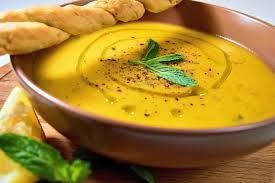 Турецкий суп-пюре из чечевицы