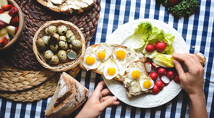 Завтраки для тех, кто заботится о своем здоровье