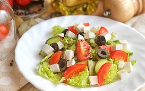 5 продуктов, которые можно есть в любом количестве. Рецепт диетического салата