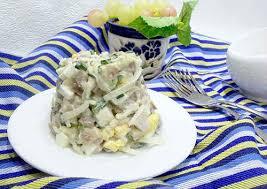 Закуска «Деревенский праздничный салат»