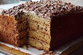 Торт медовый с корицей