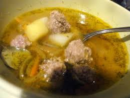 Деревенский суп с фрикадельками