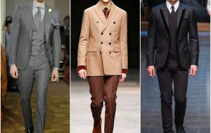 Модные костюмы классического стиля