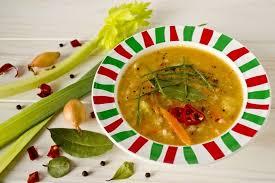 Постный суп Минестроне
