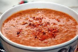 Острый чечевичный суп