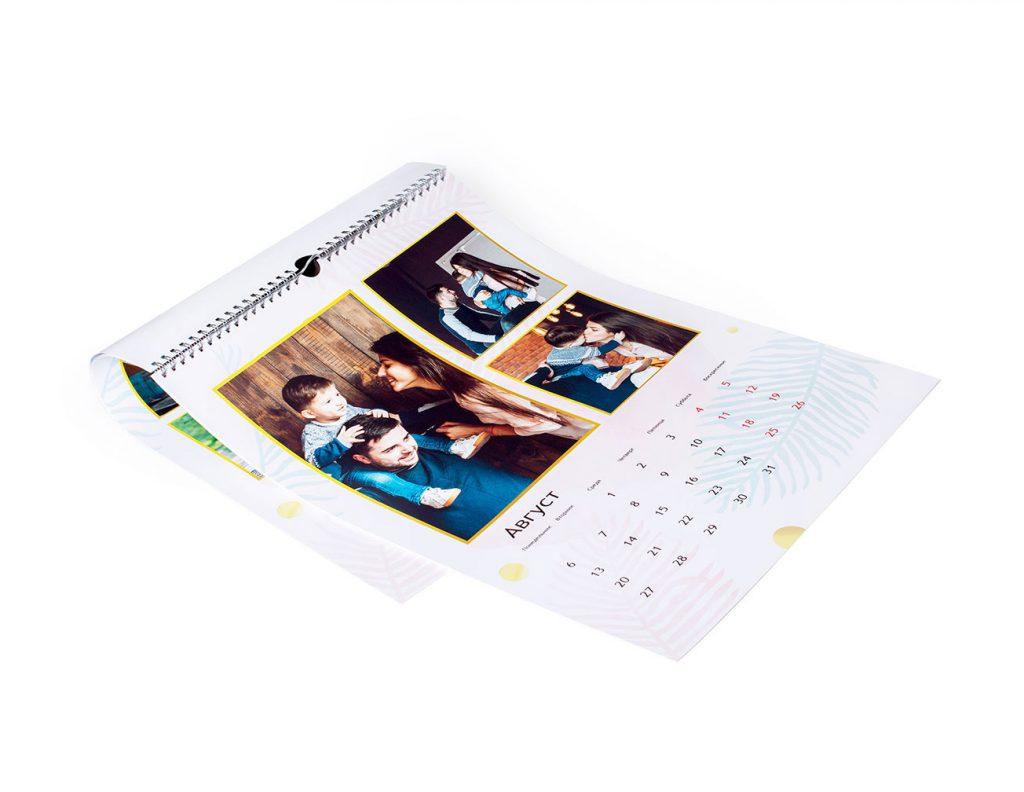 Календарь на заказ в Москве: идеальный подарок или сувенир через компанию Geliografic