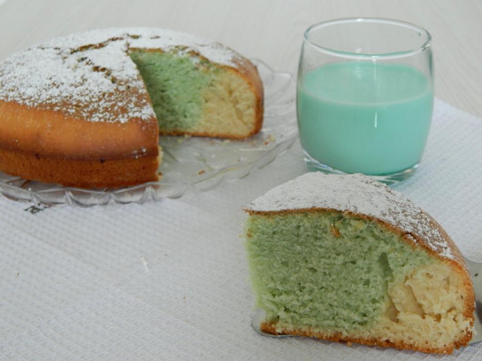 Пирог с мятным сиропом
