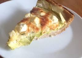 Тарт с кабачками