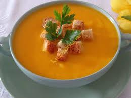 Морковный суп-пюре с овсянкой