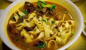 Суп-лапша домашняя по-восточному