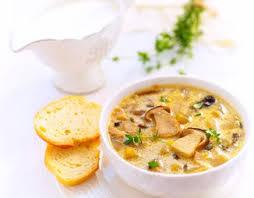 Суп с лисичками «Неженка»