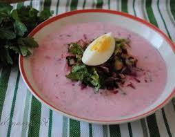 Холодный суп «Капрезе»