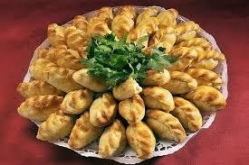 Закусочные пирожки с овощной начинкой
