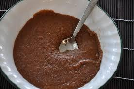 Шоколадная манная каша