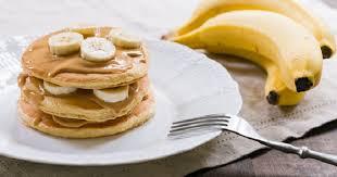Банановые оладьи (без яиц)
