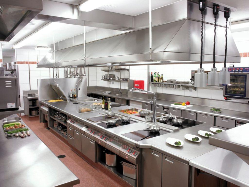 Как оснащается профессиональная кухня?