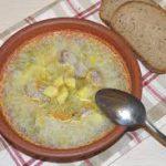 Zupa ogórkowa - польский рассольник