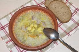 Zupa ogórkowa — польский рассольник