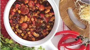 Овощной суп-чили