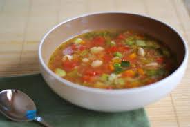 Летний суп со сладким перцем