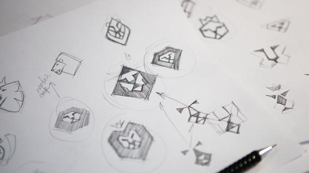 Создание логотипа — Этапы работы