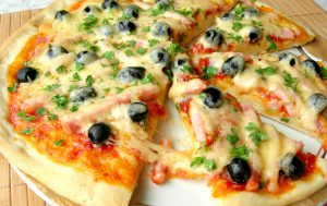 Домашняя пицца, как в пиццерии