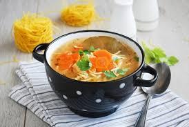 Суп с овощной «лапшой»