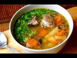 Рыбный суп из сардин (консервы) за 30 минут
