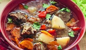 Суп из баранины по-сербски