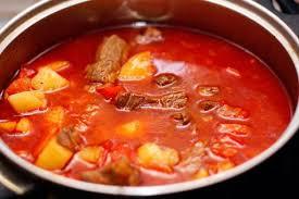 Венгерский суп «Бограч»