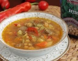 Суп с нутом и картофелем
